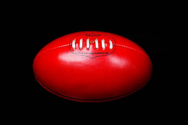 Australian Rules Football stock photo