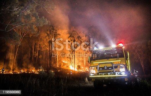 istock Australian Rural Fire Truck 1195666960