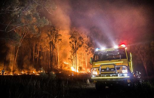 Australische Landelijke Brandweerwagen Stockfoto en meer beelden van Australië