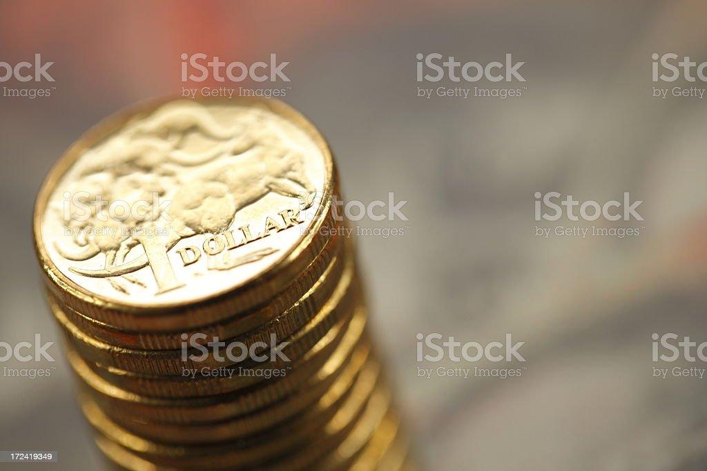 Australian Savings royalty-free stock photo