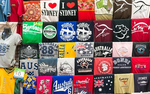 Australian souvenir t-shirts