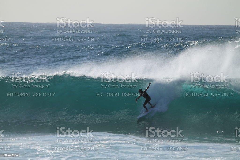 호주의 서퍼 - 로열티 프리 건강한 생활방식 스톡 사진