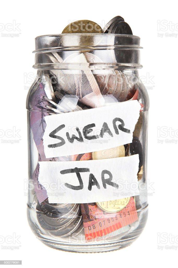 Australian Swear Jar - Full stock photo