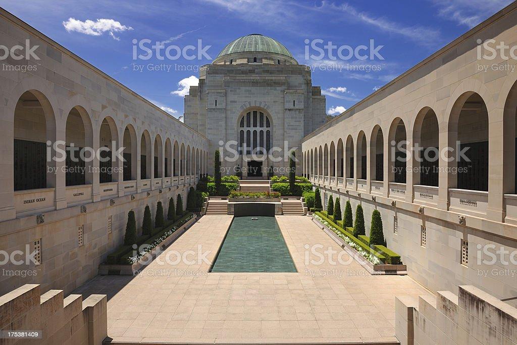 Australian War Memorial, Canberra, Australia (XXXL) stock photo