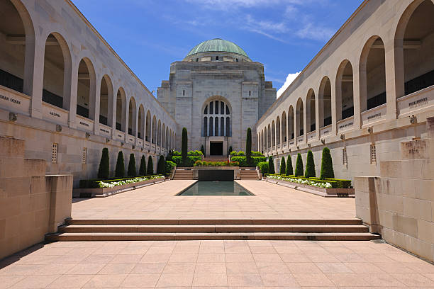 Australian War Memorial stock photo