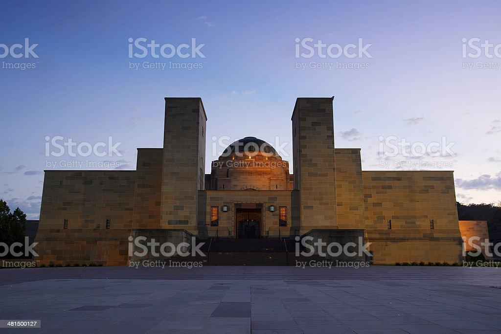 Australian War Memorial (Sunrise) stock photo