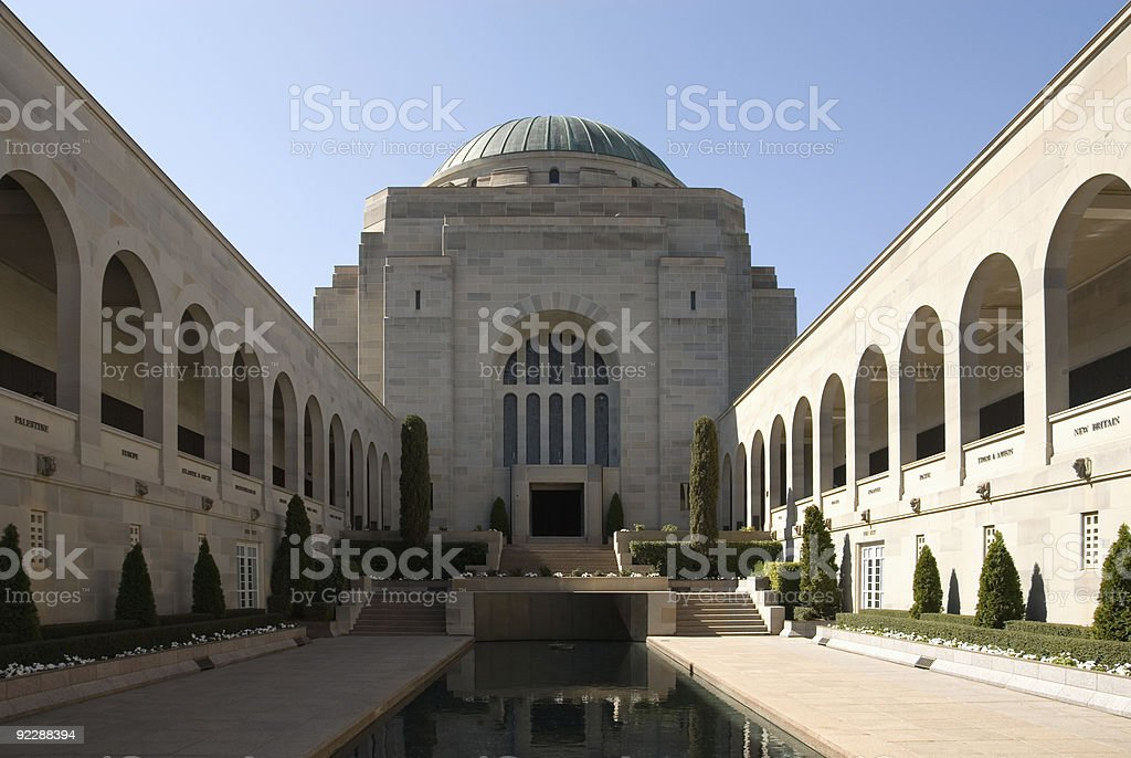 Australian War Memorial stock photo