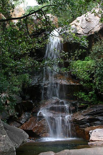 Australian Water Fall stock photo