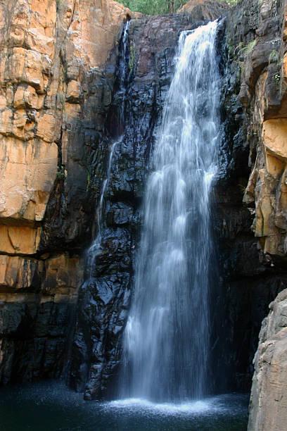 Australian Waterfall stock photo