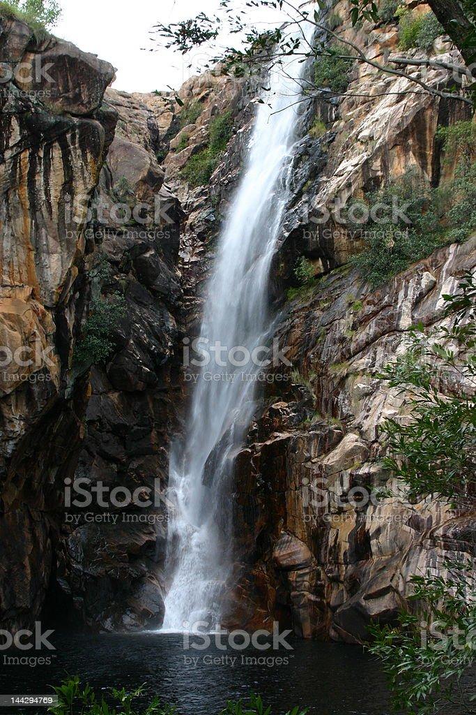 Australian Waterfall royalty-free stock photo