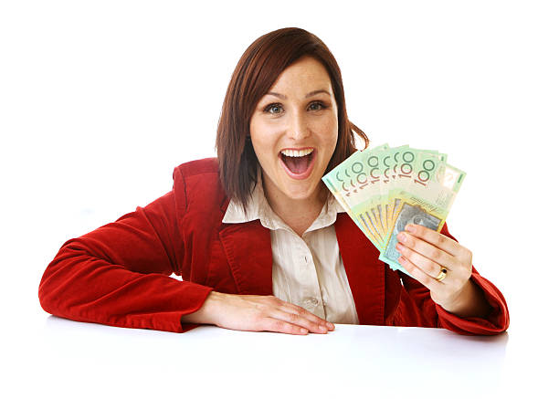 Australian Winnings stock photo