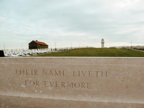 Australian World War One memorial, Villers-Bretonneux, France