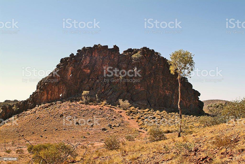 Australien, NT, East Mc Donnell Range, royalty-free stock photo