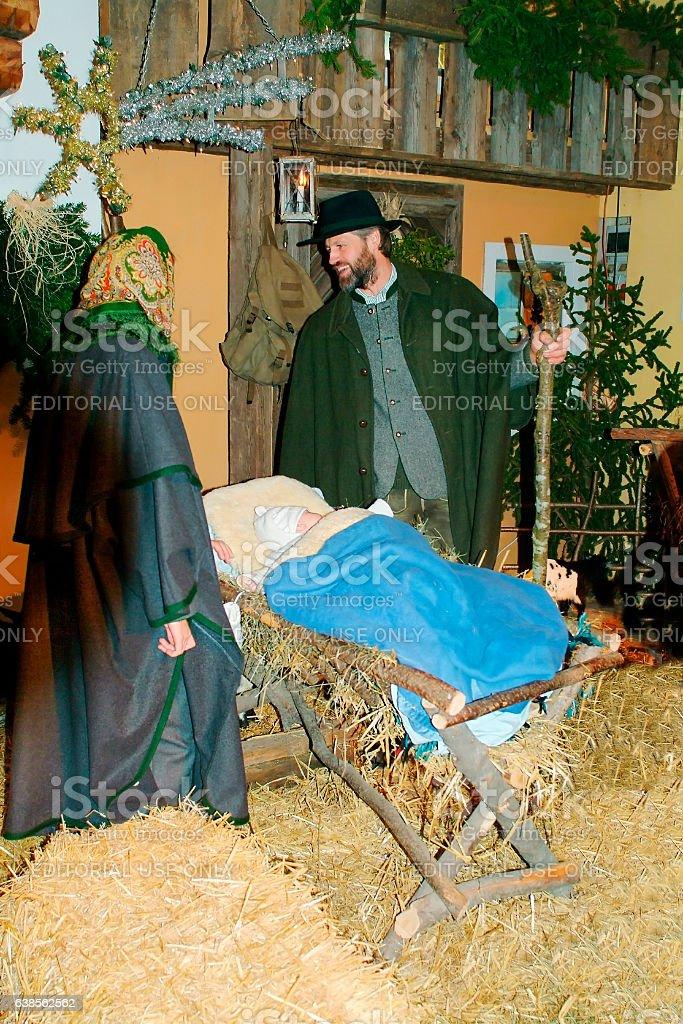 Austria, Christmas stock photo