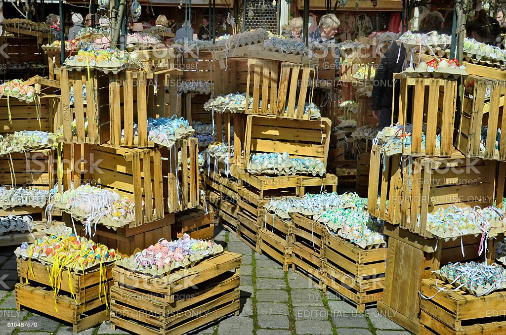 Austria, Easter Market stock photo