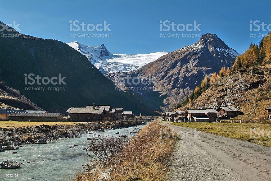 Austria, East-Tyrol royalty-free stock photo