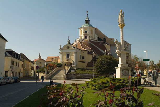 österreich, eisenstadt - burgenland stock-fotos und bilder