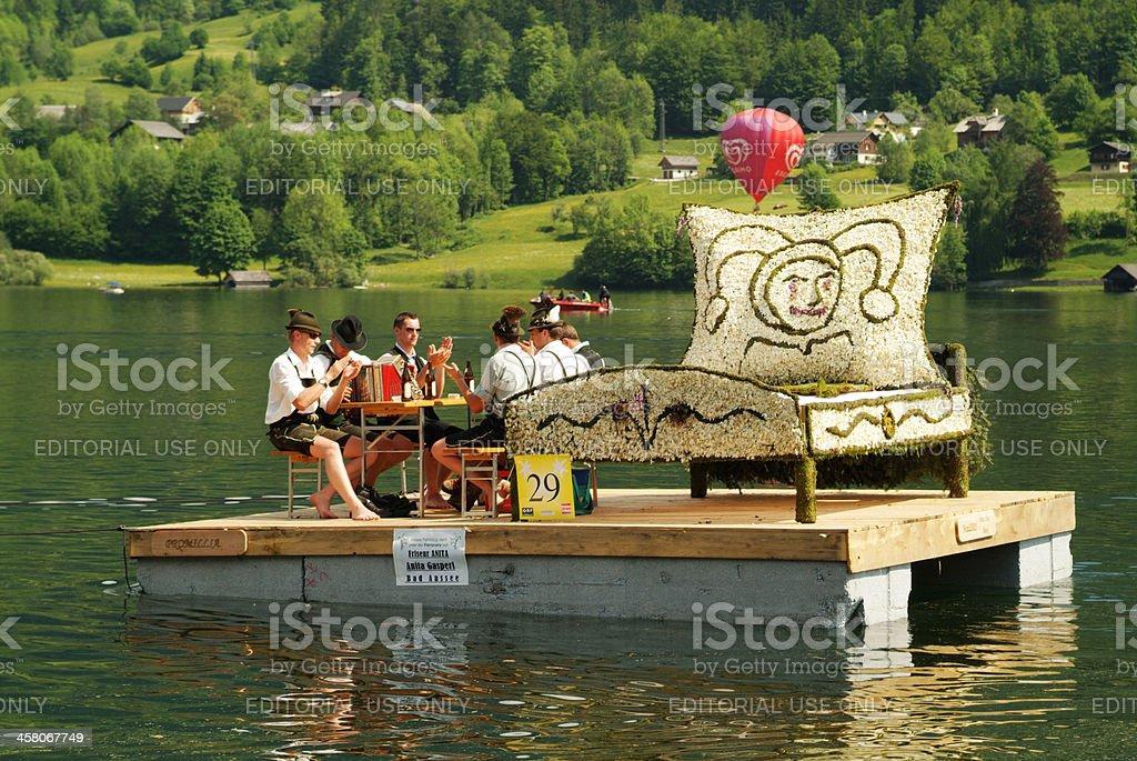 Austria, Festival of Narcissus stock photo