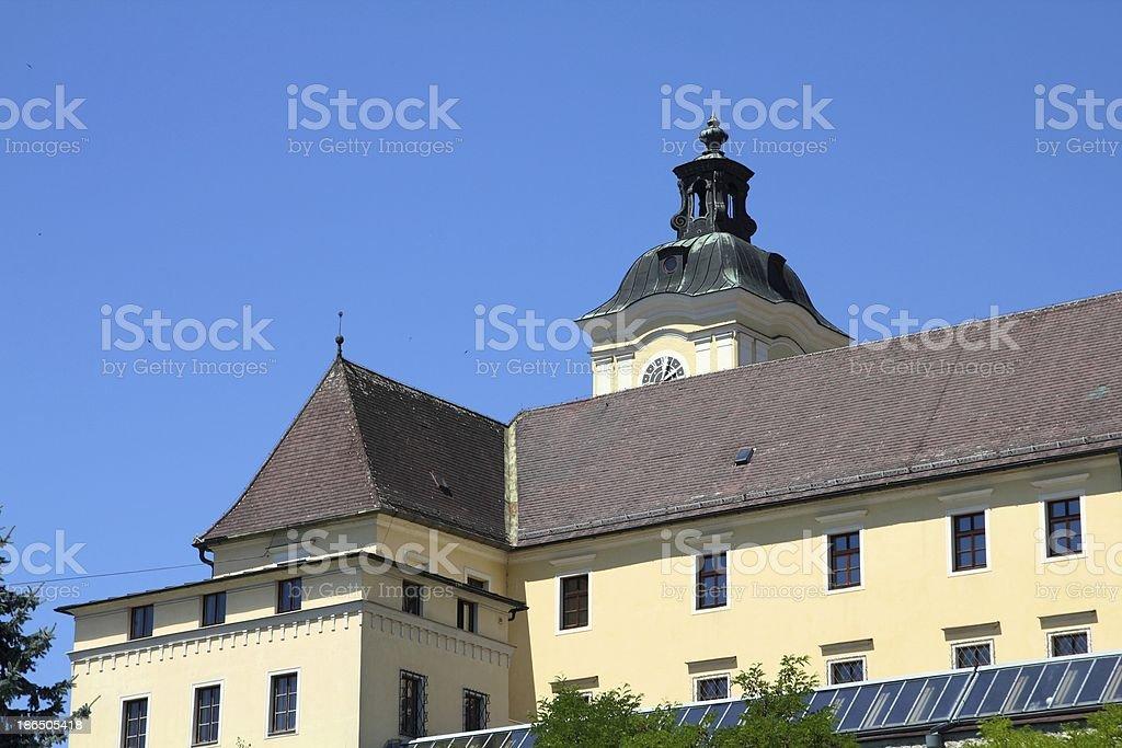 Austria - Lambach abbey royalty-free stock photo