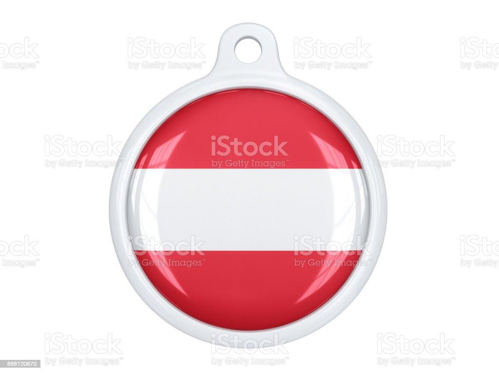 Austria medal stock photo