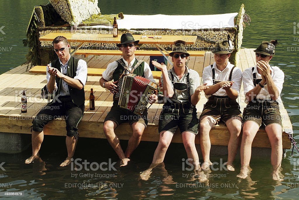 Austria, Narzissenfest stock photo