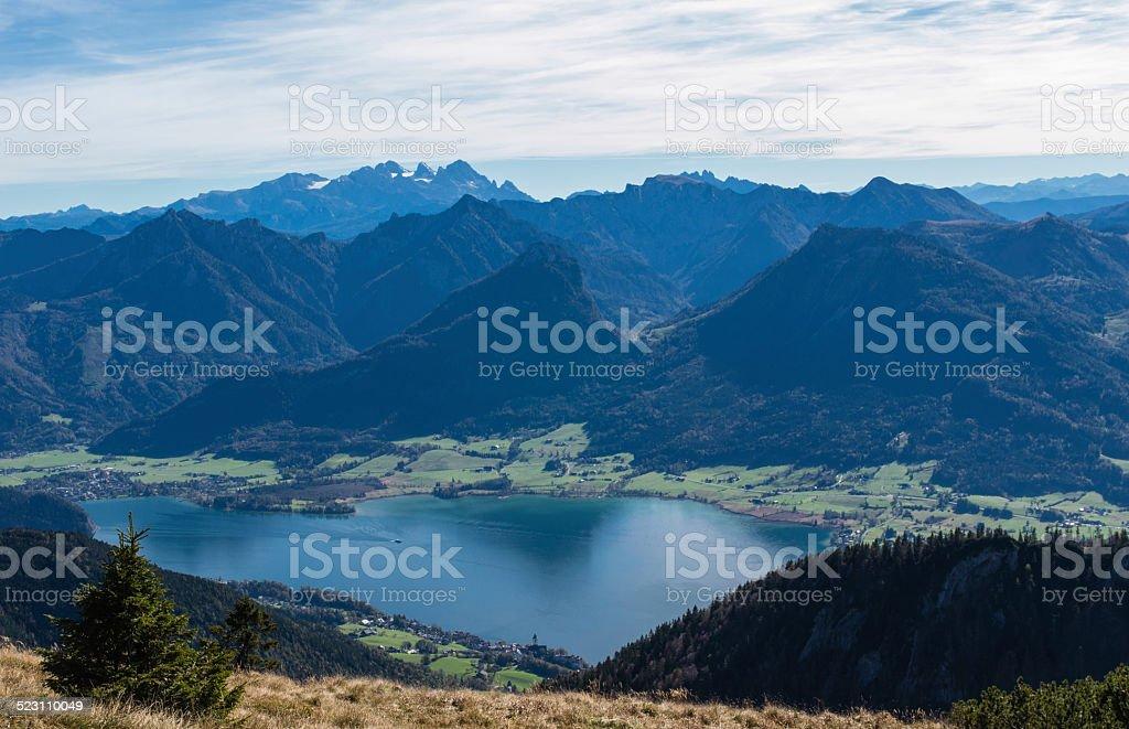 Österreich Landschaftspanorama – Foto
