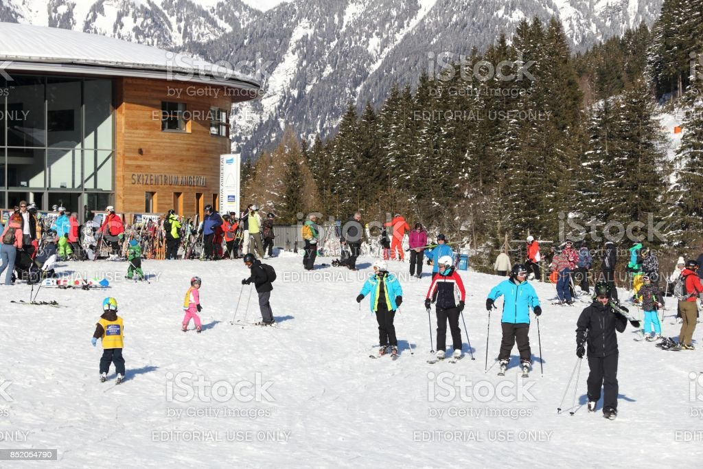 Austria ski stock photo