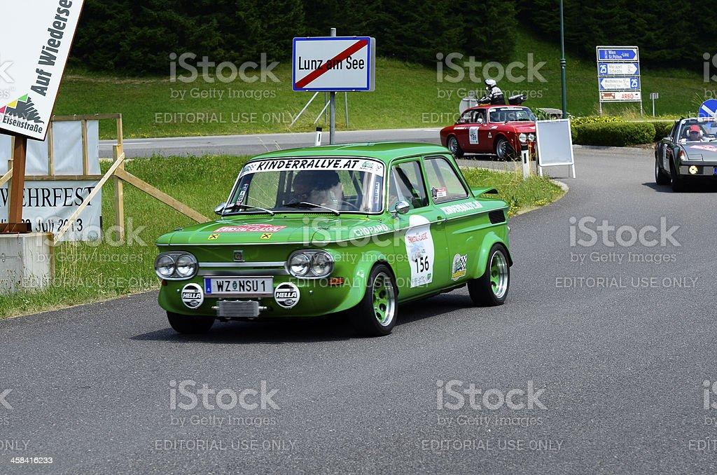 Austria, vintage cars royalty-free stock photo