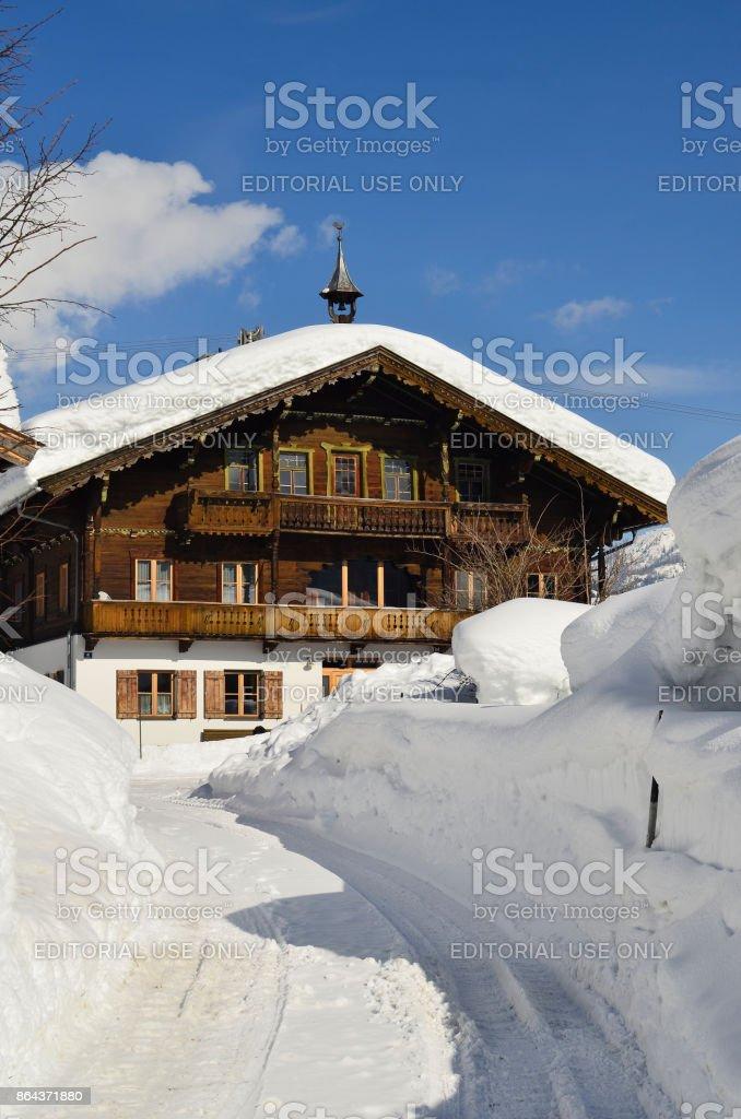 Austria_Tirol_home stock photo
