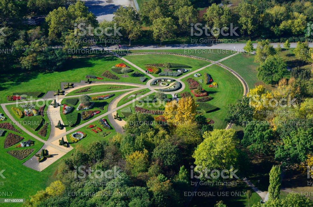 Austria_Vienna_Donaupark stock photo