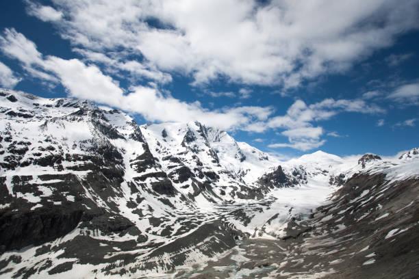 Österreichischen Alpen und Großglockner panorama – Foto