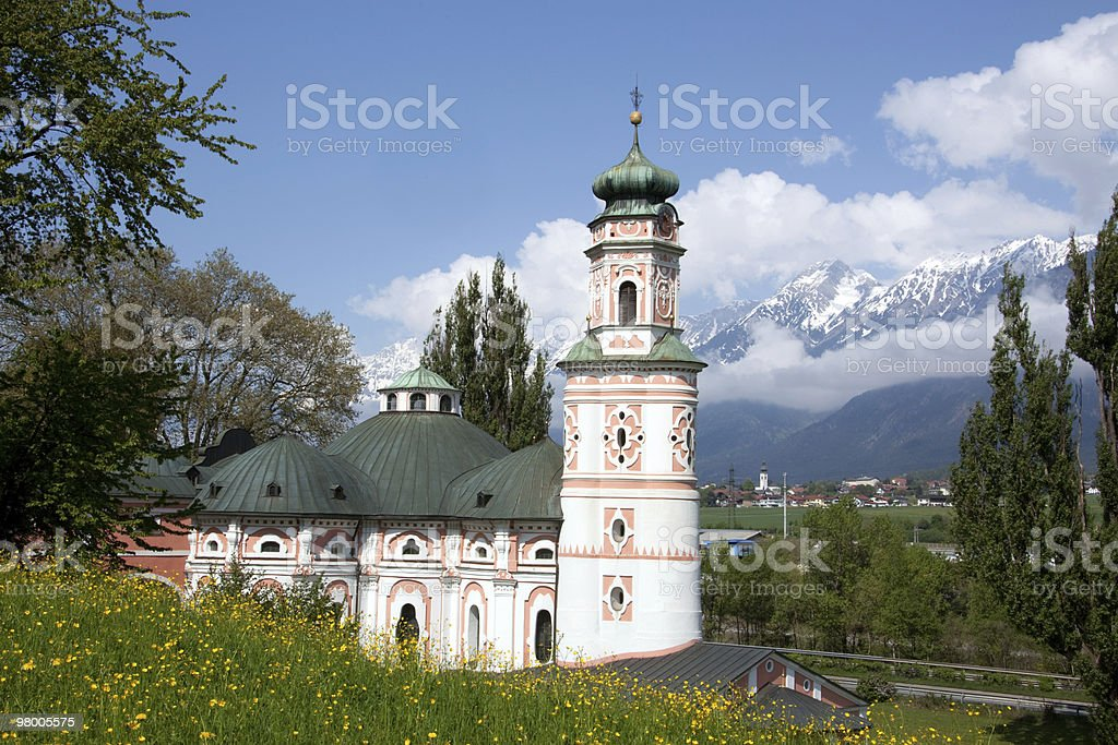 Austrian church royalty-free stock photo