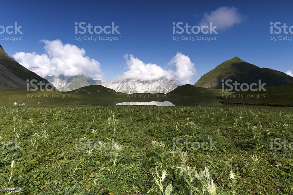 austrian extreme landscape royalty-free stock photo