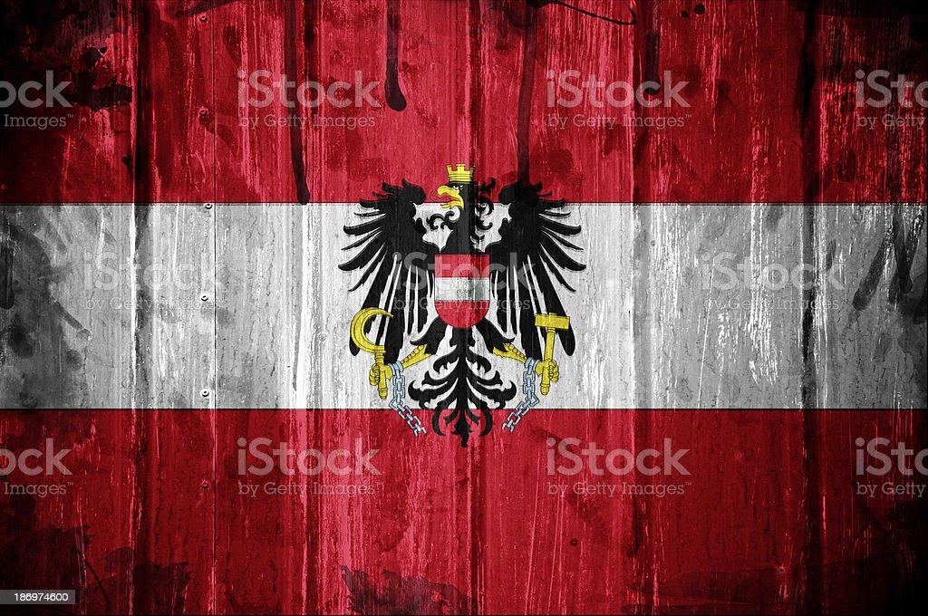 Austrian flag background royalty-free stock photo