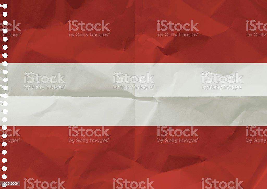 Austrian flag royalty-free stock photo