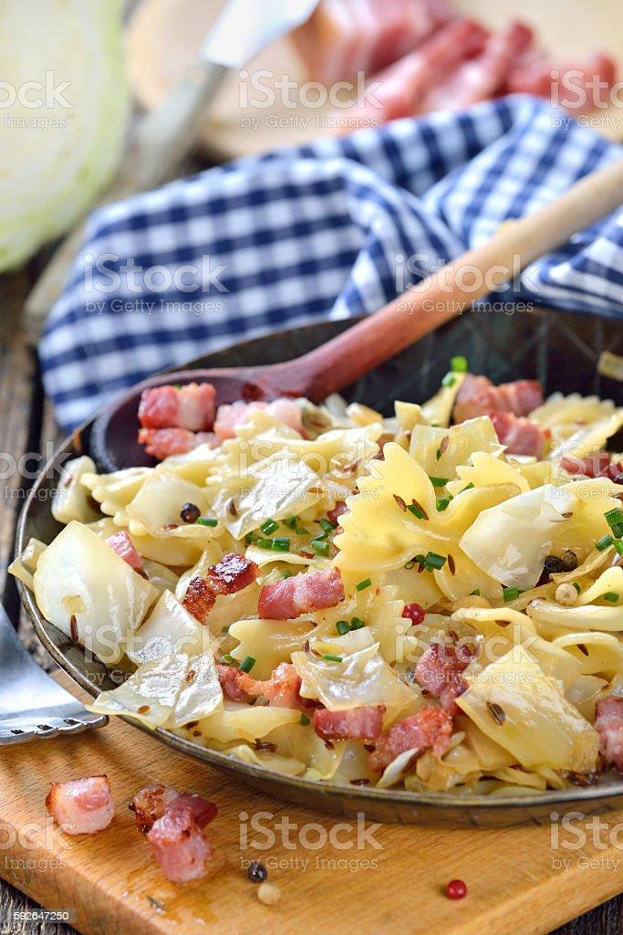 Austrian food stock photo