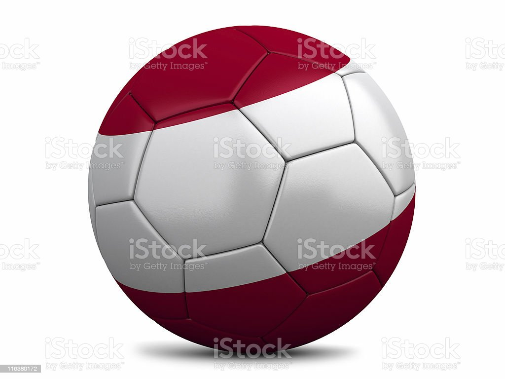 Austrian Football royalty-free stock photo