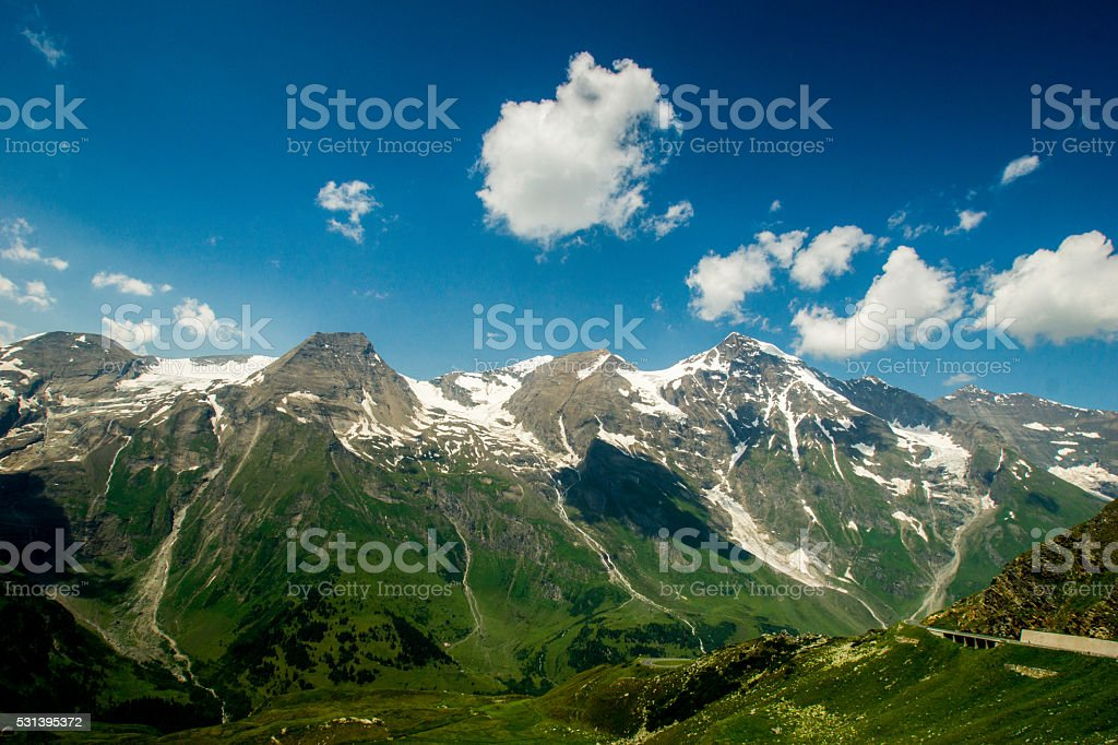 Austrian Montains stock photo