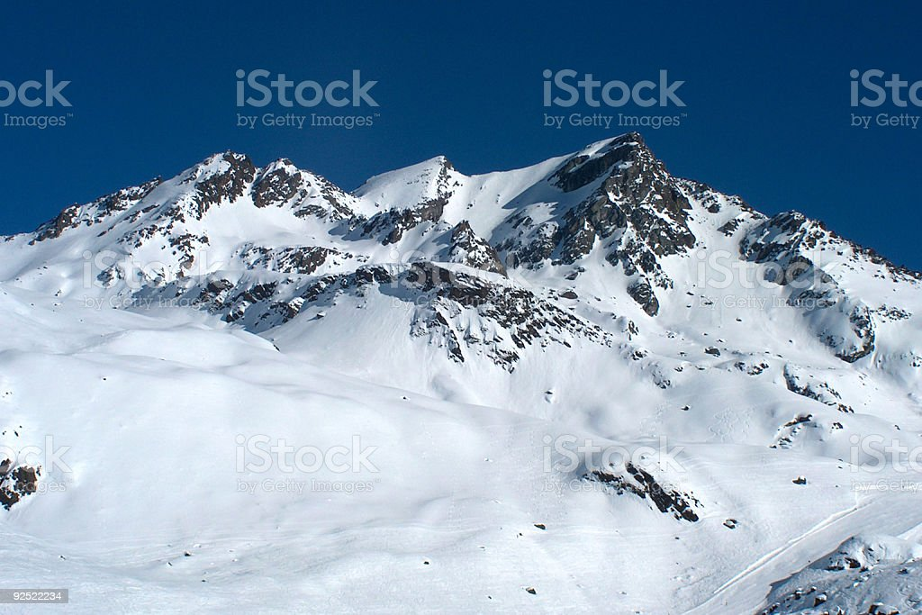 Austrian mountainside II royalty-free stock photo