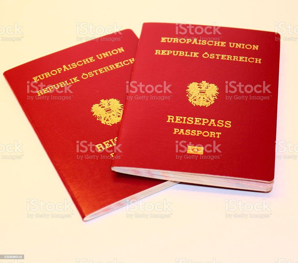 Österreichische-passport – Foto