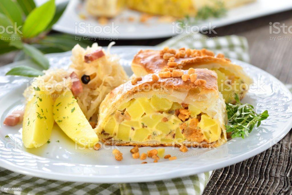 Austrian potato strudel - Photo