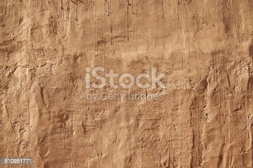 Authentic Adobe Mud Southwest Wall Background
