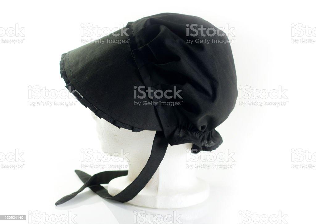 Authentic Amish Cap stock photo