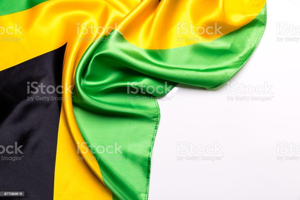 Autêntica bandeira da Jamaica - foto de acervo