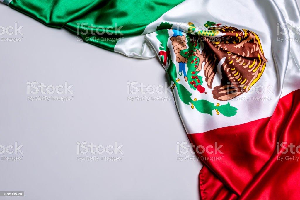 Auténtica bandera de México - foto de stock