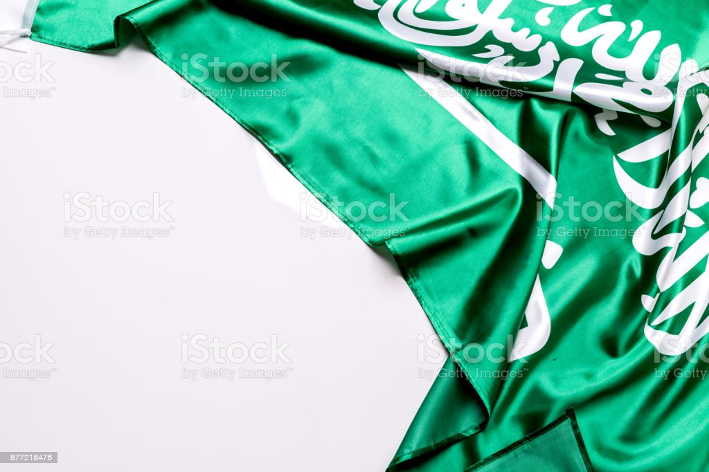 authentic flag of the saudi arabia stock photo more pictures of