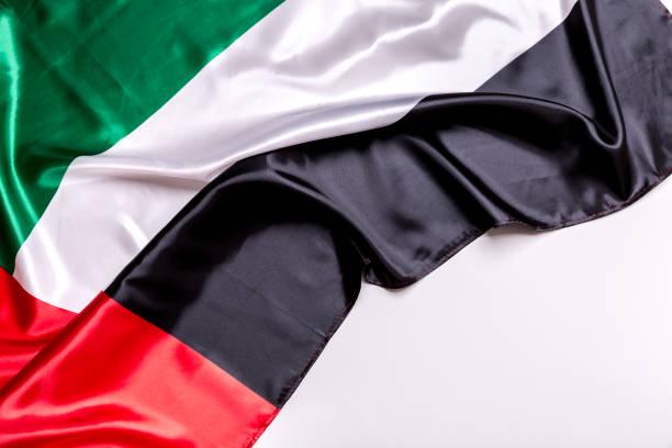 autentyczna flaga zea - uae flag zdjęcia i obrazy z banku zdjęć