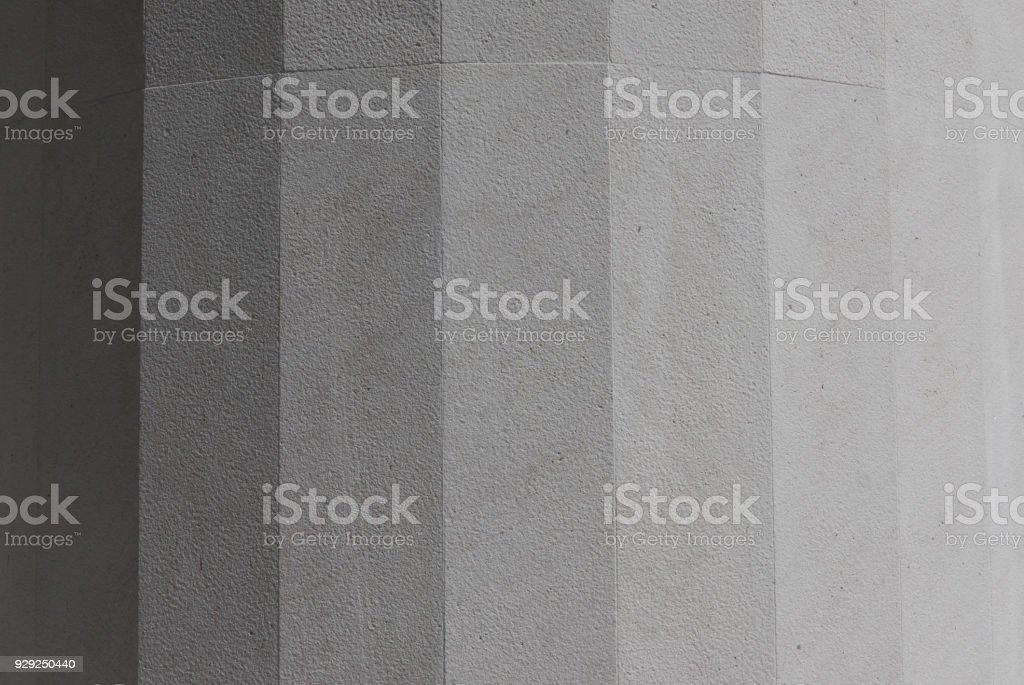 Authentic grey gradient of marble texture stock photo
