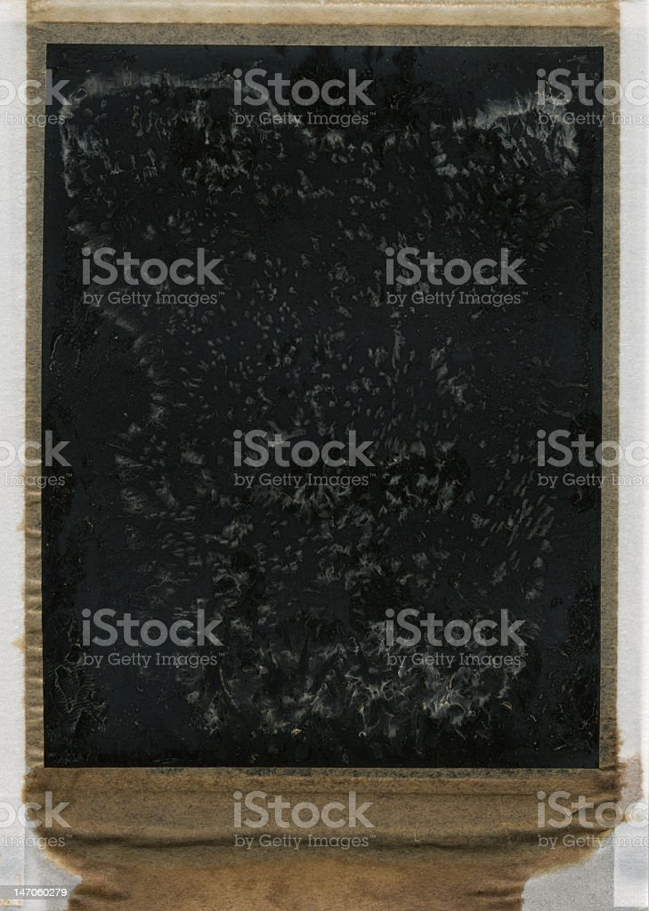 Authentic Grunge 665 film frame 5/7 royalty-free stock photo