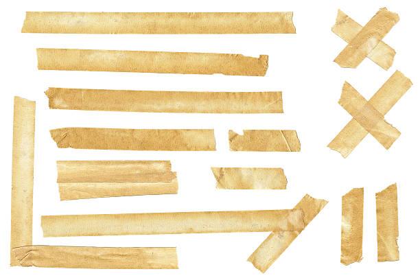 Authentische Abdeckband Stücke – Foto